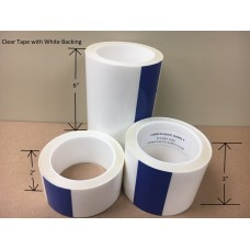 Clear Patch Tape 48' Rolls, Multiple Widths